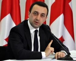 Georgian Prime Minister Irakli Garibashvili (RFE/RL/Mzia Saganelidze)