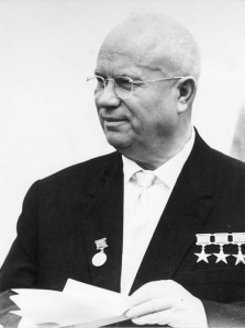 Nikita Khrushchev (German Federal Archives)