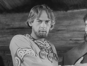 Aleksandr Nevsky as depicted in the 1938 Eisenstein film of the same name.