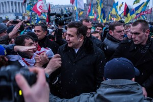 Mikheil Saakashvili in Kiev (Getty Images Europe/Brendan Hoffman)