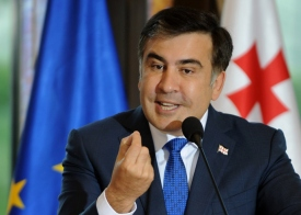 Former Georgian President Mikheil Saakashvili (AFP/Vano Shlamov)
