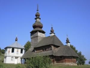 St. Nicholas Wooden Church in Zakarpattia
