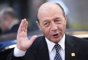 Romanian President Traian Băsescu (AFP/Getty/Lionel Bonaventure)