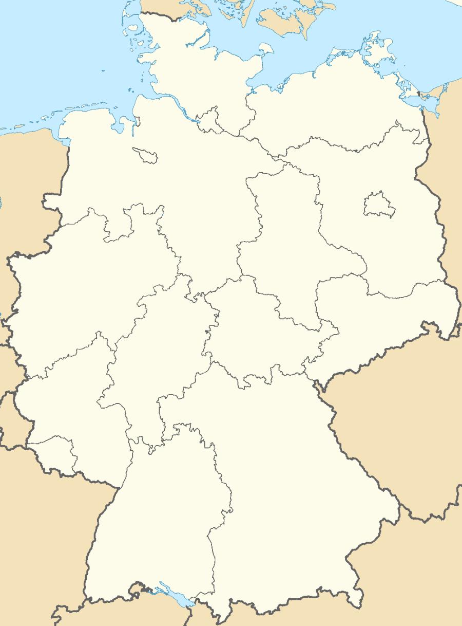 Map Of Germany Lander.German States Lander Of The German Federal Republic