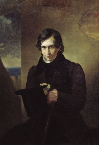 St. Petersburg-born Rusyn-Russian playwright Nestor Kukolnik (portrait by Karl Bryullov, 1836)