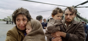 Armenian Refugees from Karabakh.  The conflict over the disputed territory displaced hundreds of thousands of civilians on both sides. (BBC World News)