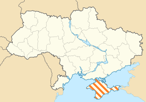 Oblasts of Ukraine, 2014