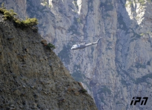 Rescue Helicopter in the Darial (Interpress News Agency)
