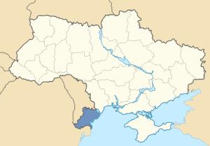 Location of the Budzhak in Ukraine