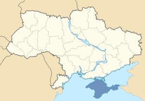 Location of Crimea