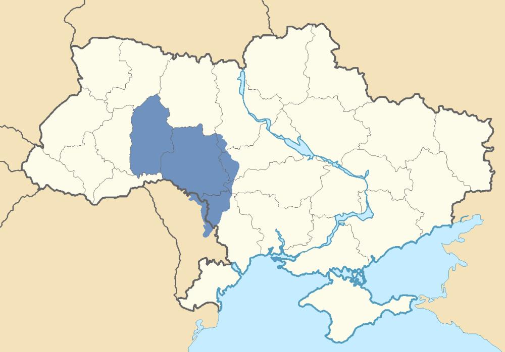 Location Of Podolia In Ukraine And Transnistria Reconsidering - Transnistria map