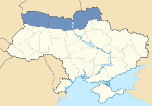 Location of Polesia in Ukraine