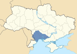 Location of the Yedisan in Ukraine and Transnistria