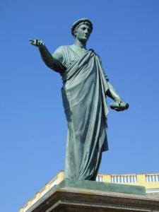 Monument to Duke de Richelieu in Odessa (ua-travelling)
