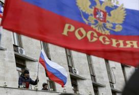 Pro-Russian demonstrators in Donetsk (Reuters / Valeriy Bilokryl)