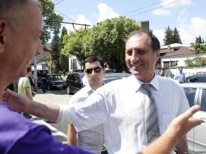 Abkhazia's Sergey Shamba (RFE/RL)