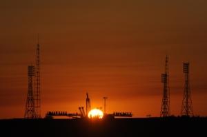 Baikonur Cosmodrome (NASA / Bill Ingalls)