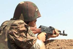 Karabakh Armenian Soldier on the Frontline with Azerbaijan (nkrmil.am)
