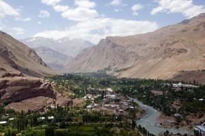 Khorog, capital of the Gorno-Badakhshan Autonomous Oblast (Bakhriddin Isamutdinov)