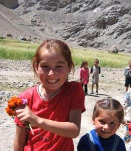 Pamiri children in Barchadev, Gorno-Badakhshan Autonomous Oblast, Tajikistan (Robert Middleton)