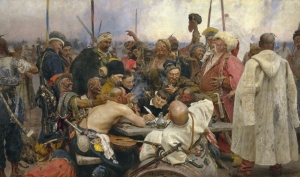 Reply of the Zaporozhian Cossacks, 1880-91, Ilya Repin