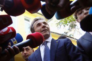 Ivanishvili after his election victory, October 2012 (David Mdzinarishvili / Reuters)