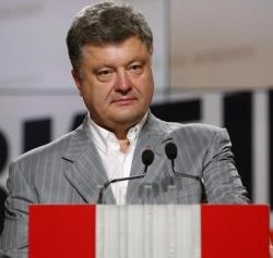 Ukrainian President Petro Poroshenko (David Mdzinarishvili / Reuters)