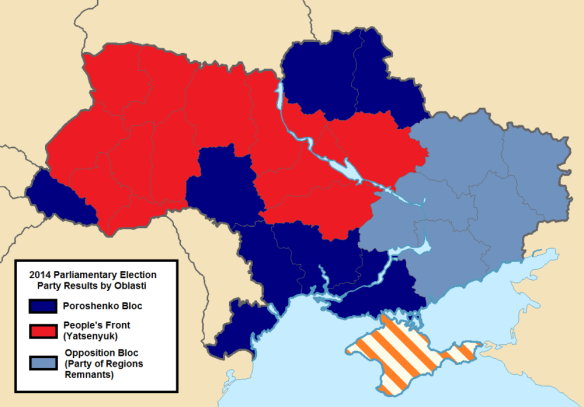 Nationwide Election Results by Oblast