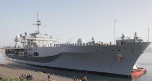 USS Mount Whitney in Batumi (Civil.ge)