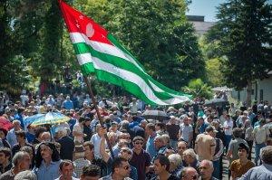 Abkhaz Revolution, 2014 (RIA Novosti / Mikhail Mokrushkin)