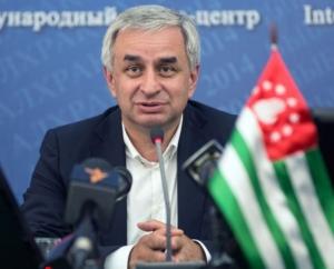Abkhaz President Raul Khajimba (PIA)