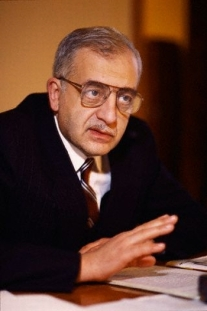 Georgian dissident, nationalist leader, and former President Zviad Gamsakhurdia