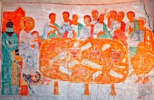 Last Supper Fresco, Udabno Monastery