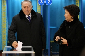 Longtime Kazakh President Nursultan Nazarbayev is widely expected to win re-election in 2016. (Photo: AP)