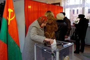 Voting in Transnistria (TASS).  In 2015, the locals of this breakaway region of Moldova will be voting in new parliamentary elections.
