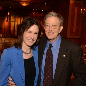 Stephen F. Cohen and Katrina vanden Heuvel (New York Historical Society)