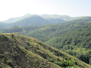 The mountains of Nagorny Karabakh. (Photograph by this writer)