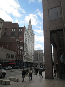 Terminal Tower, Downtown Cleveland (Photograph by this writer)
